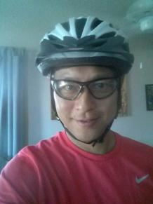 Vancouver Resume Writer, Wearing Bike Helmet Photo!